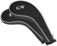 Longridge Graphite Longneck 2 Tone Zipped Iron Covers - 4-Gw