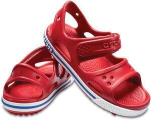 Crocs Preschool Crocband II Sandal Pepper/Blue Jean