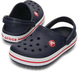 Crocs Kids' Crocband Clog Navy/Red