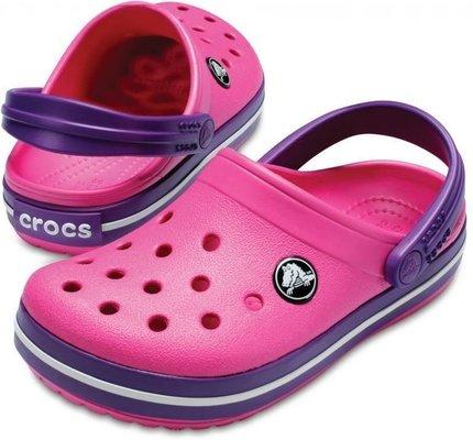 Crocs Kids' Crocband Clog Paradise Pink