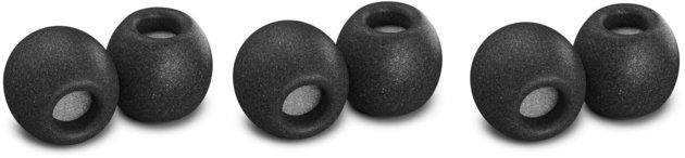 Comply Comfort Plus TSX-500 Black Medium 3 Pair