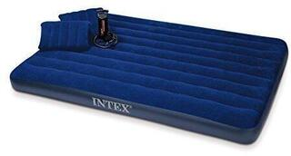 Intex Queen Classic Downy Airbed With Hand Pump