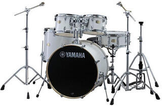 Yamaha Stage Custom Birch Pure White + HW680 (B-Stock) #918042