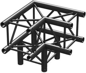 BeamZ P30-C30 Truss 3 Way Corner 0,5 m Black