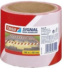 TESA Signal Tape 58137 Red-White 80 mm x 100 m