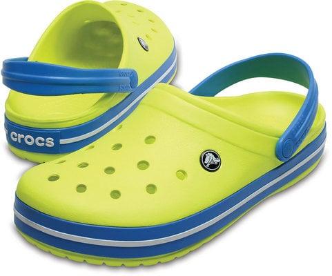 Crocs Crocband Clog Tennis Ball Green
