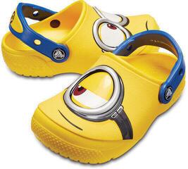 Crocs Fun Lab Minions Clog Kids Yellow 20-21