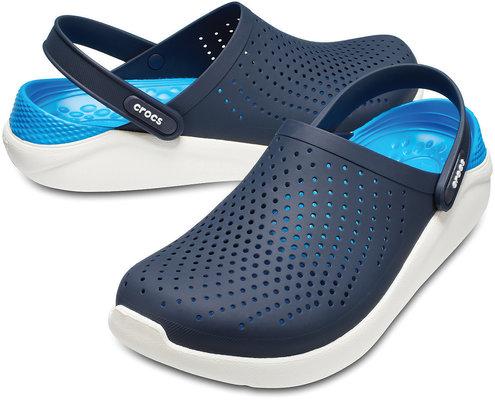 Crocs Lite Ride Clog Unisex Navy/White 43-44