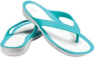 Crocs Swiftwater Flip Women Tropical Teal/Pearl White