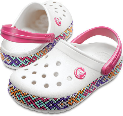 Crocs Crocband Gallery Clog Kids Oyster 22-23