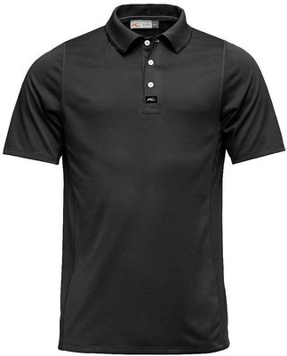 Kjus Seapoint Engineered Mens Polo Shirt Black 52