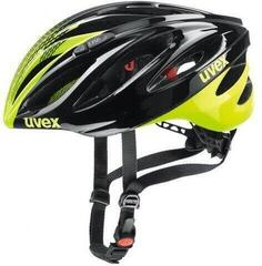 UVEX Boss Race Black/Neon Yellow 52-56