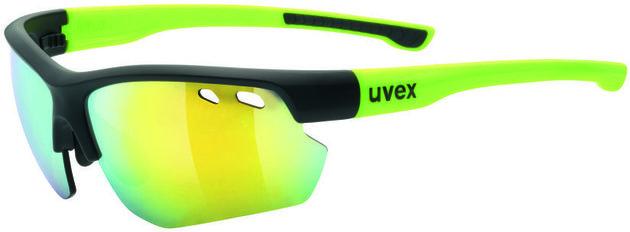UVEX Sportstyle 115 Black Mat Yellow