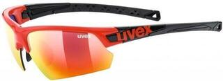 UVEX Sportstyle 224 Red Black