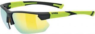 UVEX Sportstyle 221 Black Mat Yellow