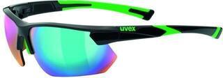 UVEX Sportstyle 221 Black Green-Mirror Green S3
