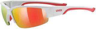UVEX Sportstyle 215 White Mat Red
