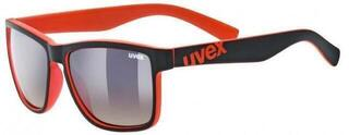 UVEX LGL 39 Black Mat Red