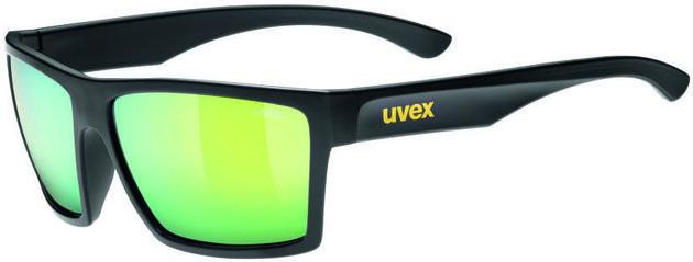 UVEX LGL 29 Black Mat-Mirror Yellow