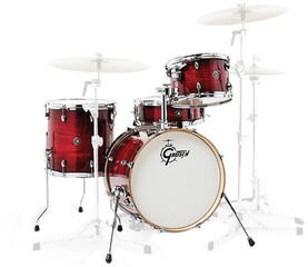 Gretsch Drums CT1-J484 Catalina Club Gloss Crimson Burst