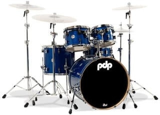 "PDP by DW ""Concept Maple Set 5 pcs 22"""" Blue Sparkle"""