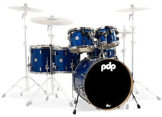 "PDP by DW ""Concept Maple Shell Pack 6 pcs 22"""" Blue Sparkle"""