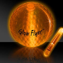 Masters Golf Glow Flyer - Golf Ball Orange