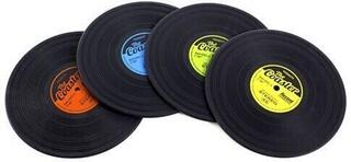 Music Sales Record Coasters 4 Pack