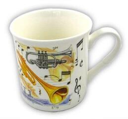 Music Sales Fine China Mug Trumpet Design