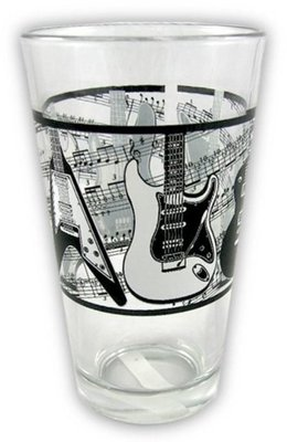 Music Sales Glass Tumbler Electric Guitars/Music