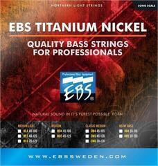 EBS TN-CM5 Titanium Nickel 45-128