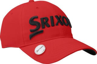Srixon Cap Ball Marker Red/Black 2018