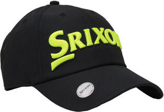 Srixon Cap Ball Marker Black/Yellow 2018