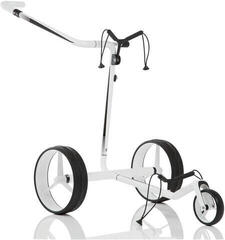 Jucad Carbon Travel White/Black Electric Golf Trolley