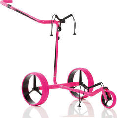 Jucad Carbon Travel Pink/Black Electric Golf Trolley