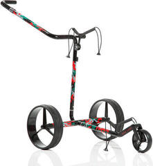 Jucad Carbon Travel Camouflage Electric Golf Trolley