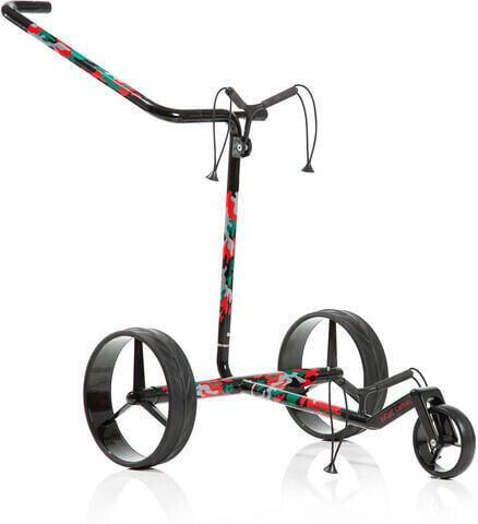 Jucad Carbon 3-Wheel Camouflage Golf Trolley