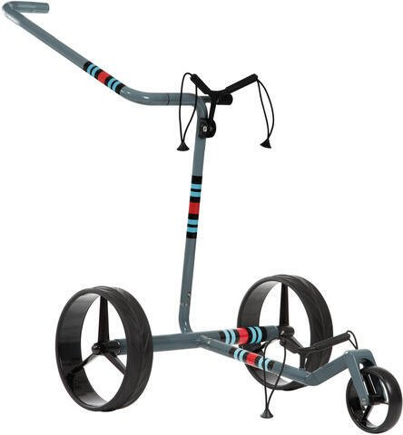 Jucad Carbon 3-Wheel Racing Grey Golf Trolley