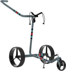 Jucad Carbon 3-Wheel Racing Grey Golf Trolley