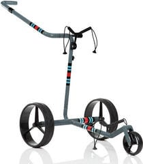 Jucad Carbon Travel Racing Grey Electric Golf Trolley