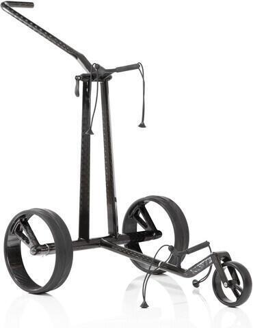Jucad Phantom 3-Wheel Black Golf Trolley