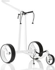 Jucad Phantom 3-Wheel White Golf Trolley