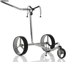 Jucad Carbon 3-Wheel Silver/Black Golf Trolley