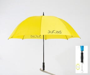 Jucad Telescopic Umbrella Yellow
