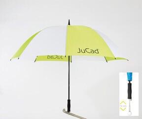 Jucad Telescopic Umbrella Green-White