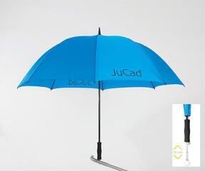 Jucad Telescopic Umbrella Blue
