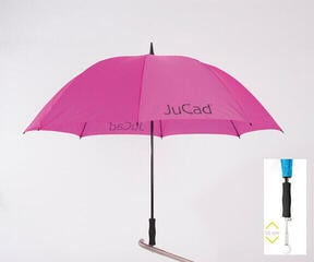 Jucad Telescopic Umbrella Pink