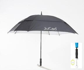 Jucad Telescopic Windproof Umbrella Black