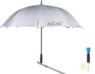 Jucad Telescopic Automatic Umbrella Silver