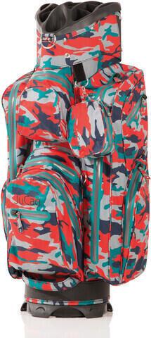 Jucad Aquastop Camouflage/Red Cart Bag